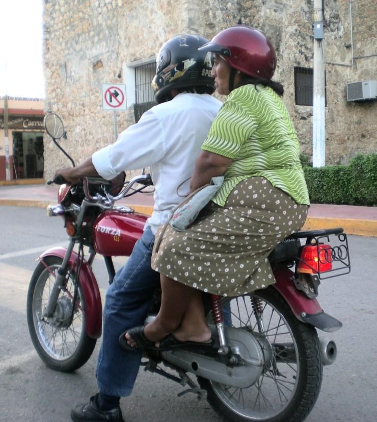 Mex 08 832 Motorcycle Mama Close Up