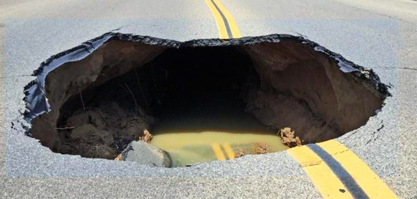 Sink Hole 1