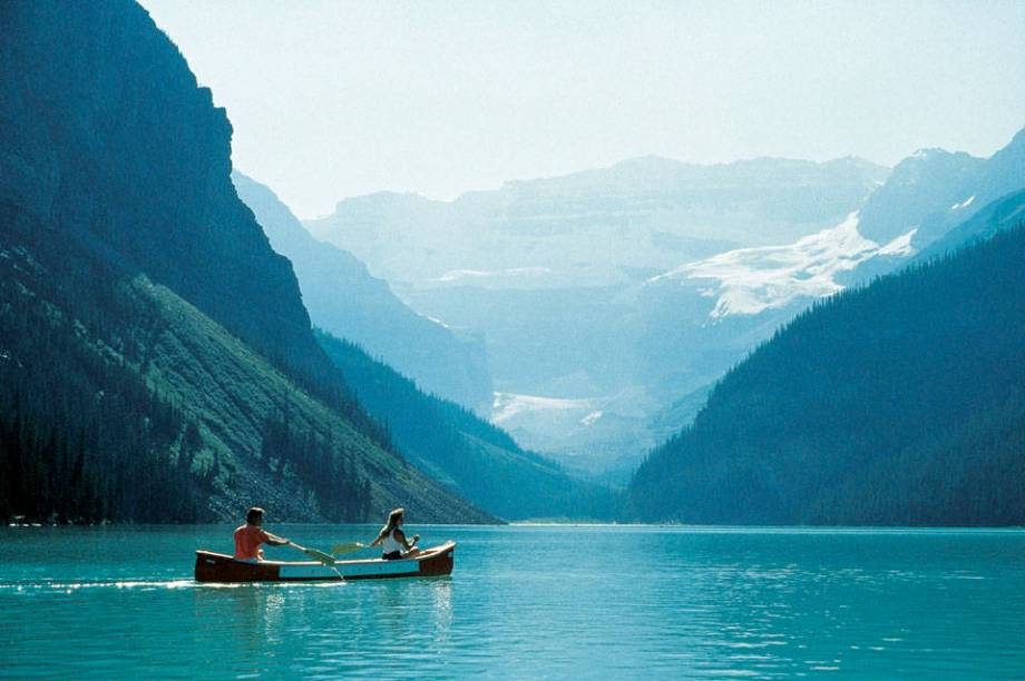 Lake Louise Rocky Mtns Alberta