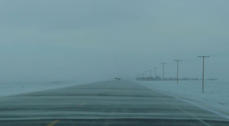 Prairie Snow Storm