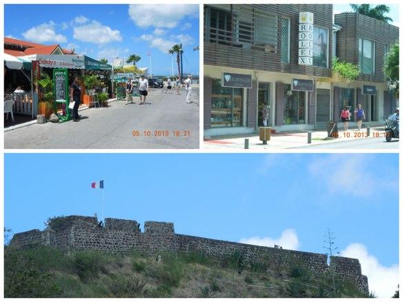 马里戈持的美食街、街道和城堡