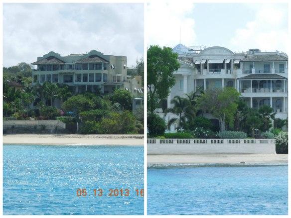 白色沙滩与别墅