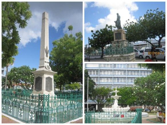 市中心广场的殖民遗迹