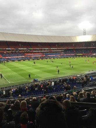Wedstrijd Feyenoord - Emmen
