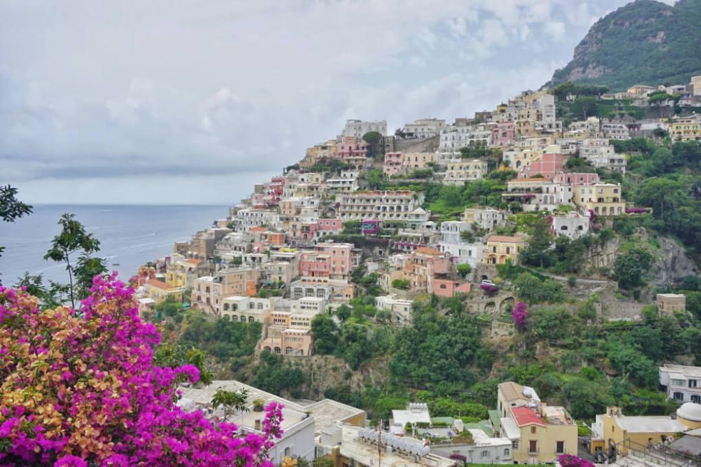 Uitzicht vanaf Positano