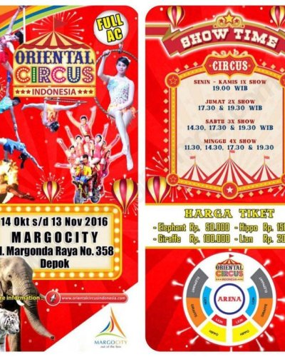 Mengenang Impian Masa Kecil Bersama Oriental Circus Indonesia