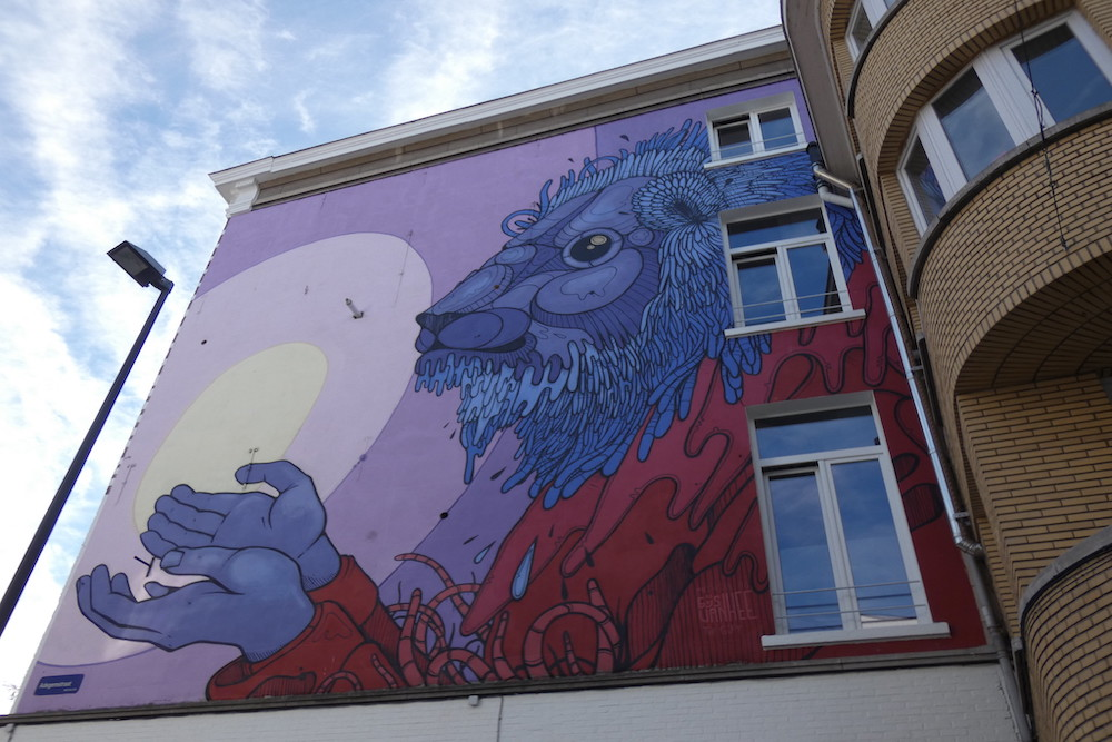 Street art België: Mechelen Muurt