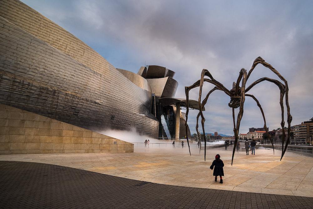 Bijzondere architectuur in Spanje Guggenheim Museum in Bilbao