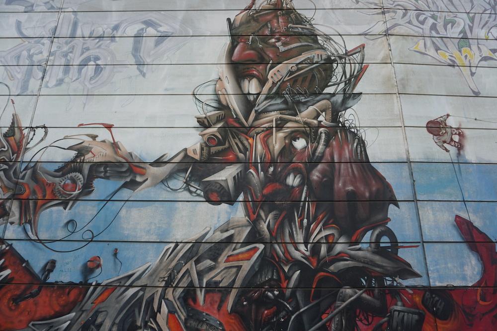 Street art Charleroi Belgie