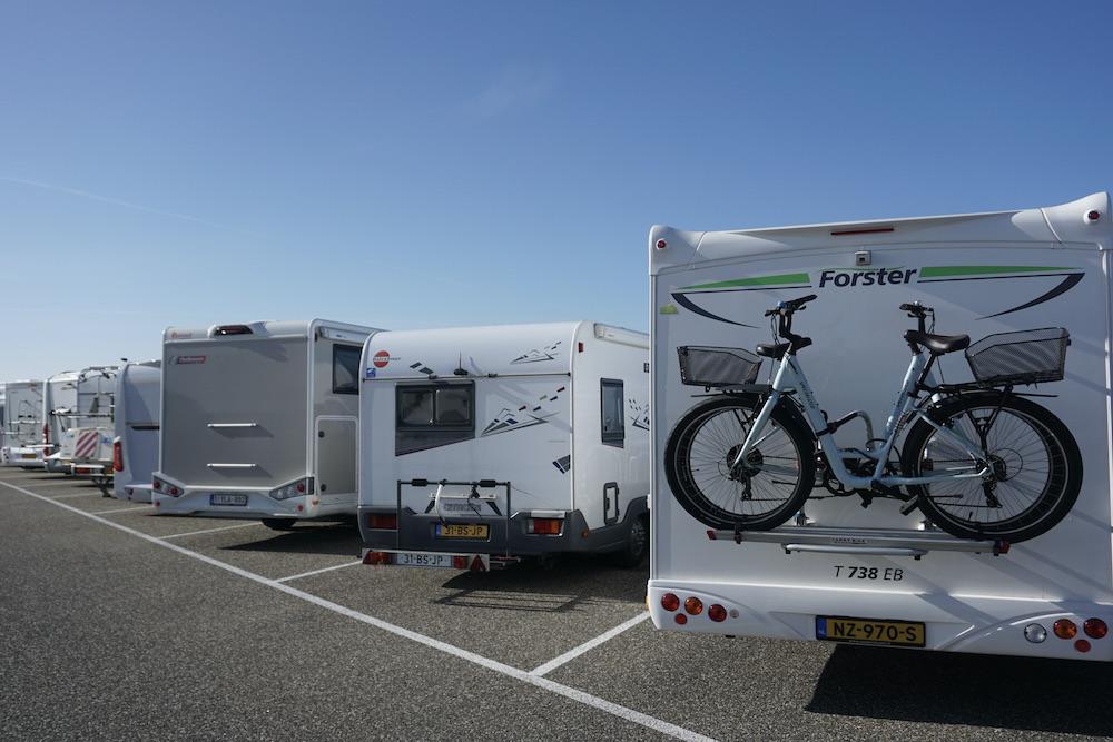 Camper parkeren Zandvoort aan Zee