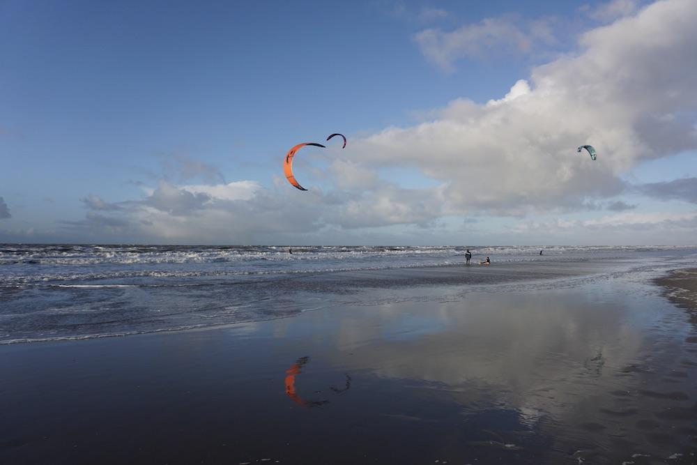 Kitesurfen Zandvoort aan Zee Nederland