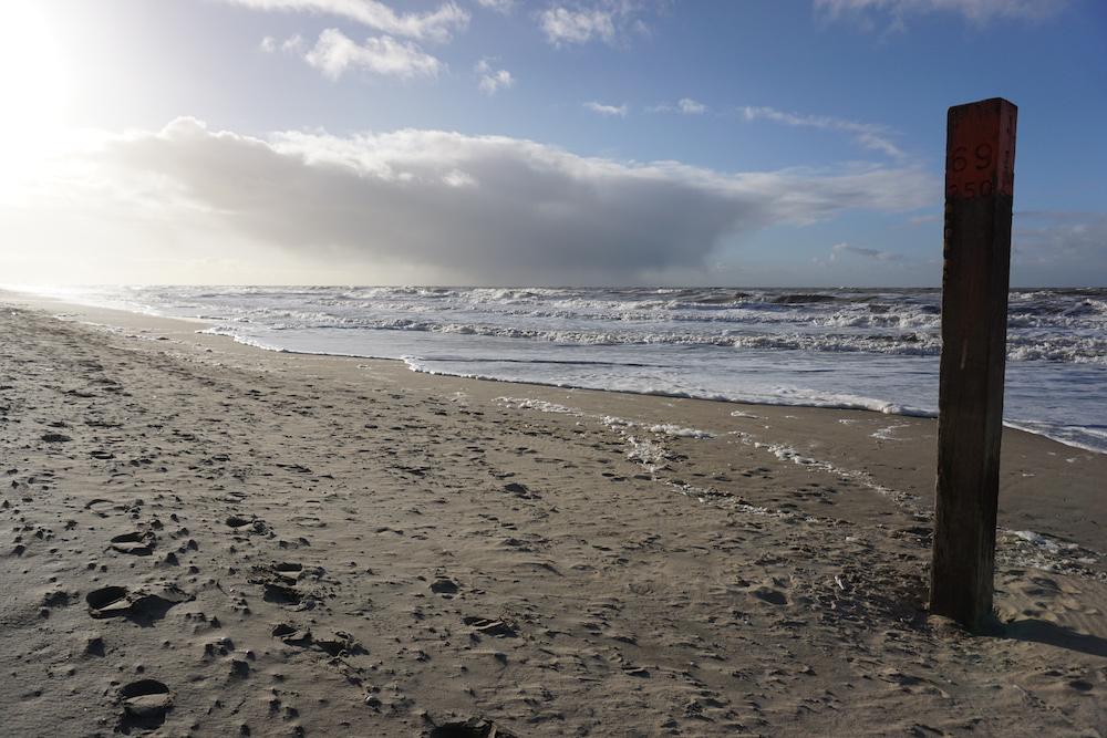 Strandwandeling Zandvoort aan Zee naar Noordwijk