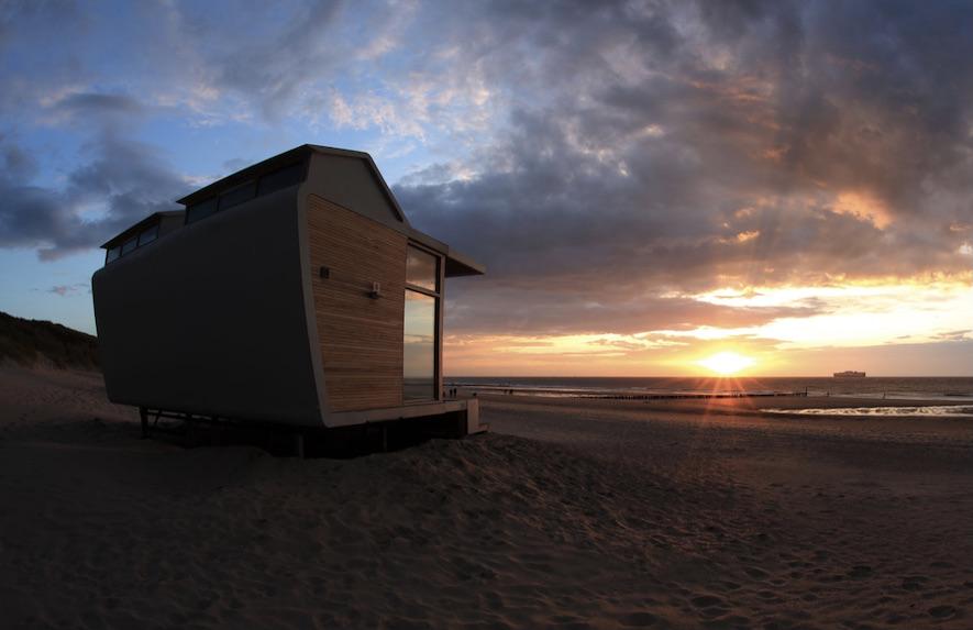 Strandhuisjes Nederland Molecaten Park Hoogduin Cadzand Zeeland