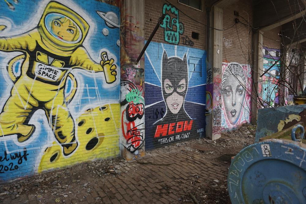 Street art NDSM Amsterdam Noord