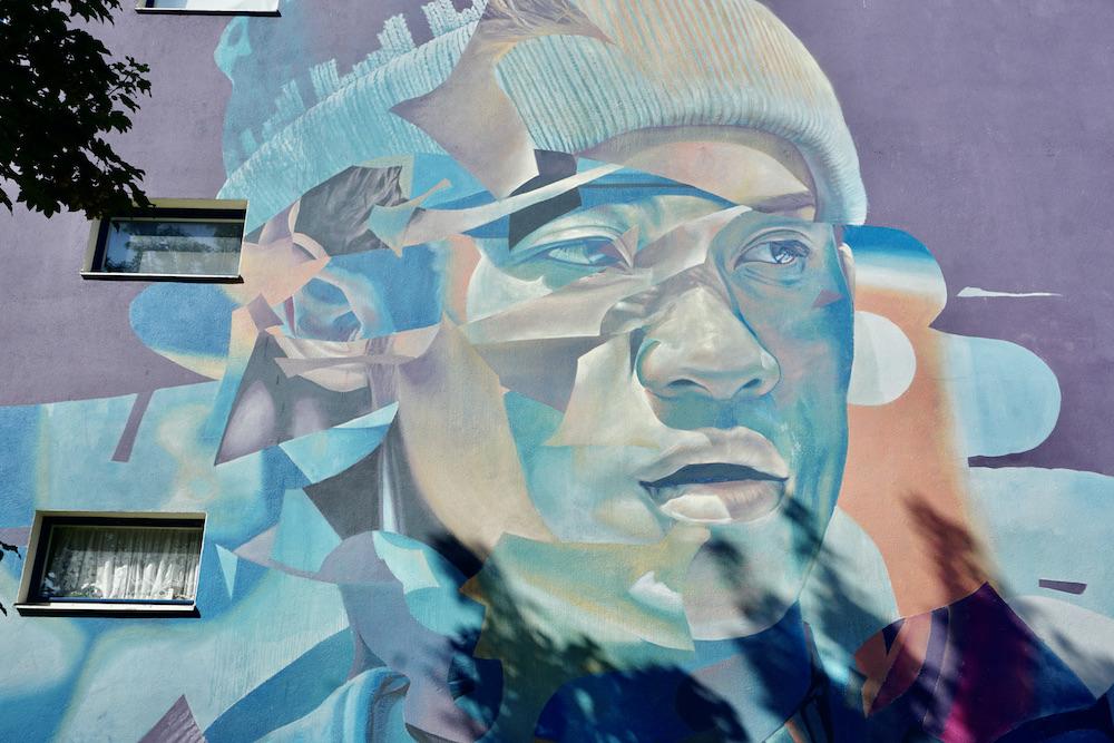 Street art in Goes van TelmoMiel