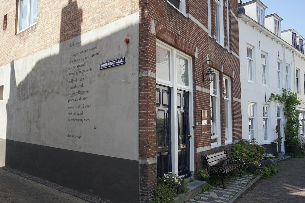 Gedicht Ron de Jonge Middelburg