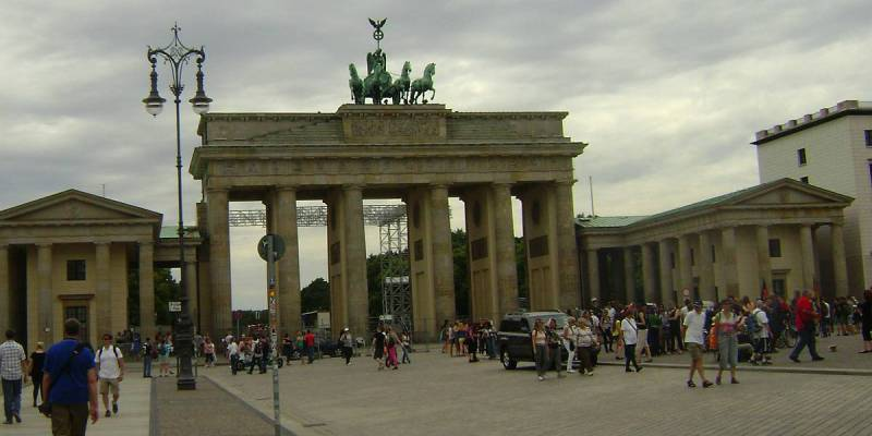 Brandenburg Gate (Brandenburger Tor), Berlin