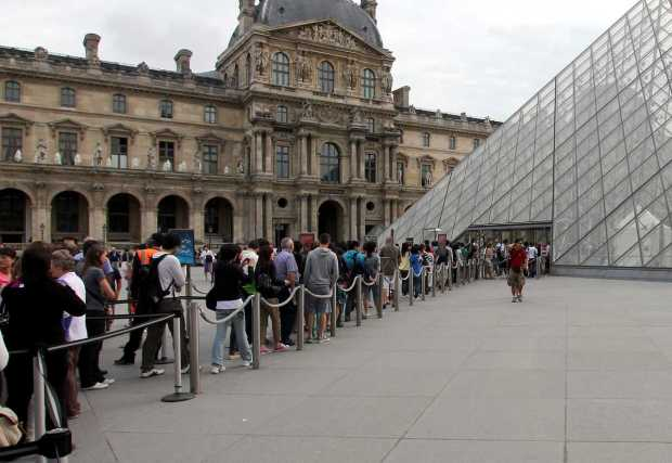 European Queues to Museums are Still the Longest