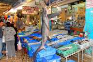 Acre Fish Market, Israel