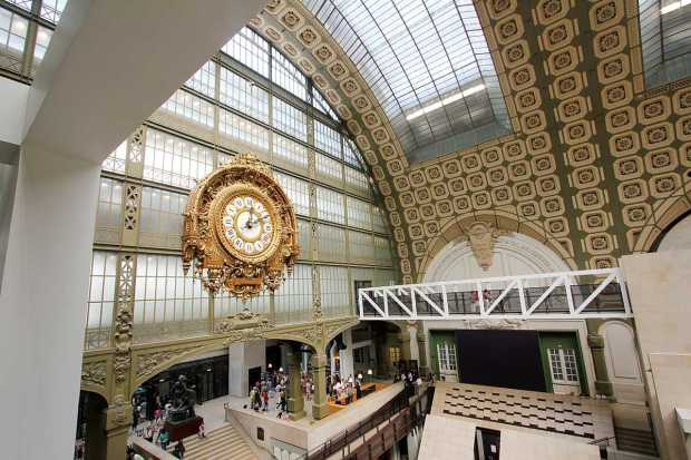 Musée d'Orsay clock