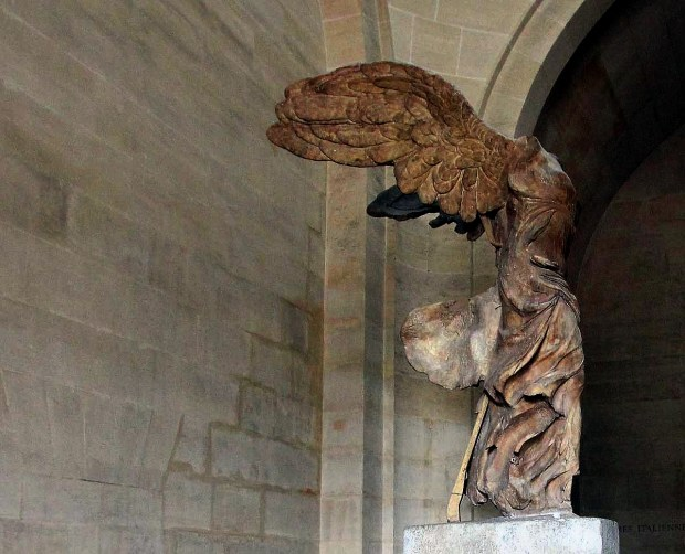 Louvre Top Things to See: Winged Victory of Samothrace (The Nike of Samothrace)