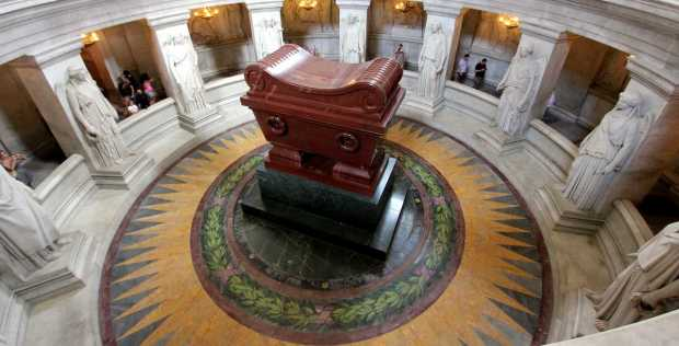 Napoleon's Tomb, Chapel of Saint-Louis-des-Invalides, Paris