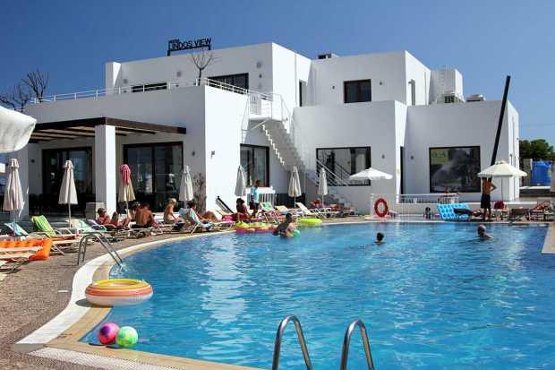 Lindos View Hotel, Rhodes, Greece