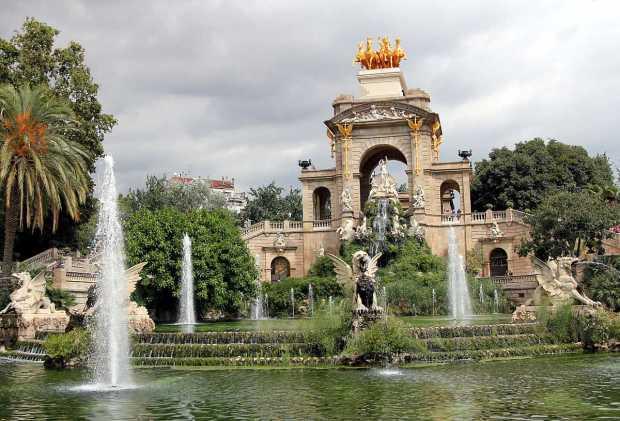 Cascada, Parc de la Ciutadella, Barcelona