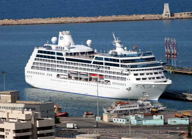 Pacific Princess on Holy Land Cruise