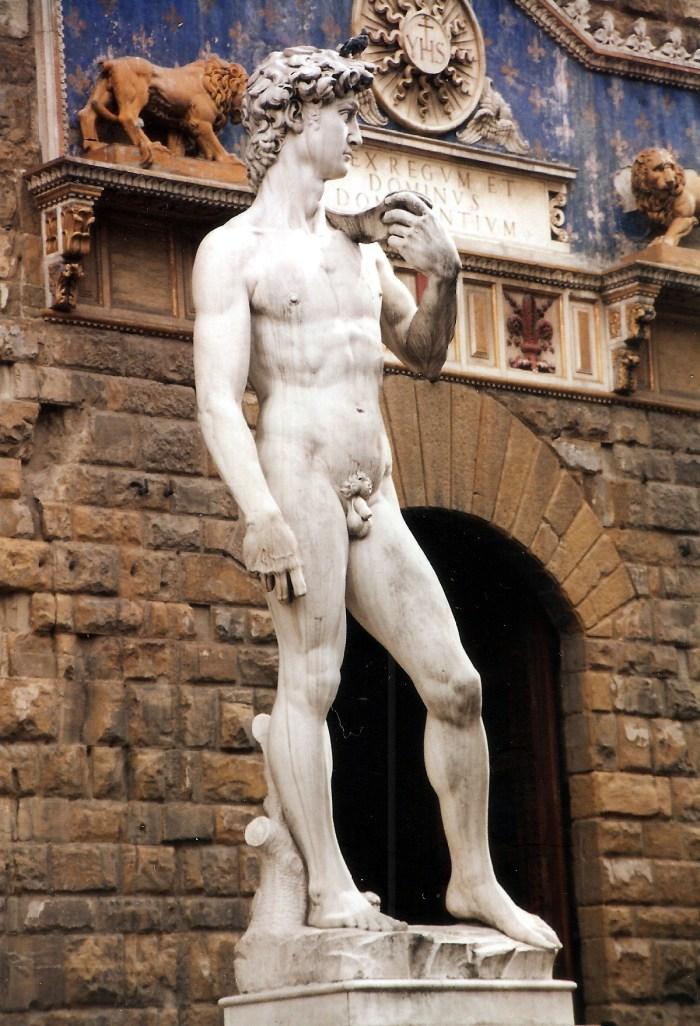 David (Michelangelo), Florence, Italy
