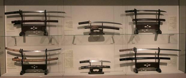 Collection of Japanese Swords, Tikotin Museum of Japanese Art, Haifa, Israel