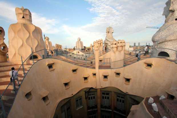 La Pedrera, Gaudi, Barcelona