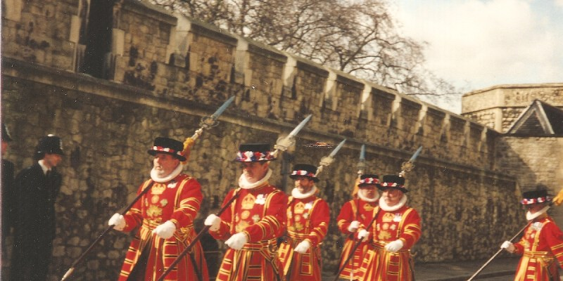 Yeomen Warders (Beefeaters), Tower of London, London