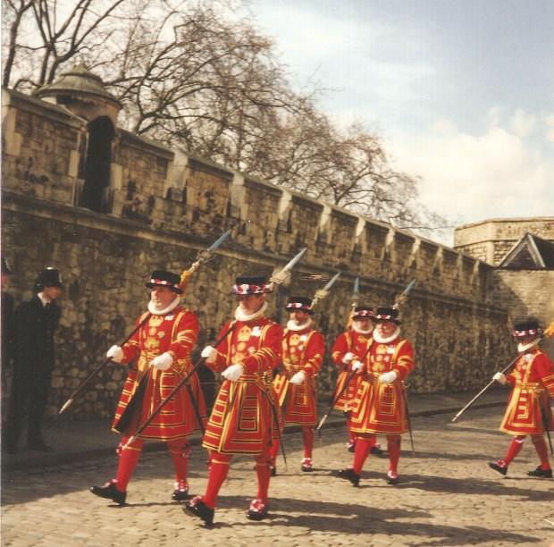 Yeomen Warders (Beefeaters), Tower of London, London