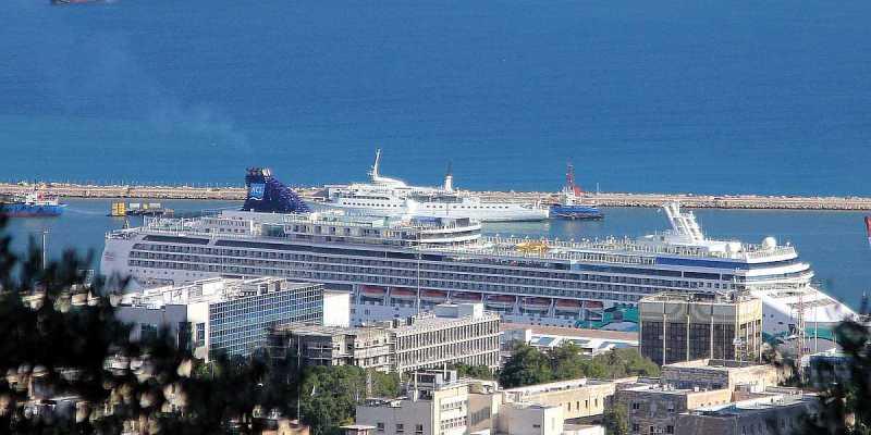 Cruise Ship Norvegian Jade on Mediterranean Cruise