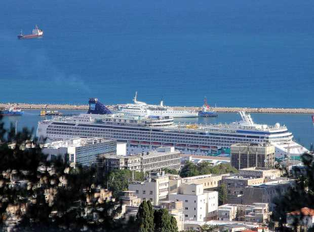 Cruise Ship Norwegian Jade on Mediterranean Cruise