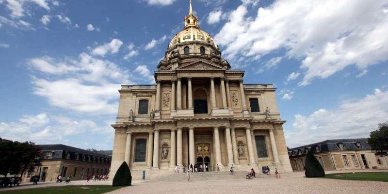 Eglise du Dome Church, Hotel des Invalides, Esplanade des Invalides, Paris
