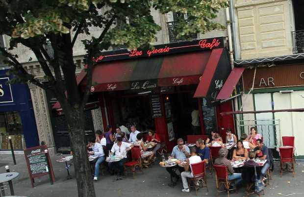 Cafe Les quais, Paris