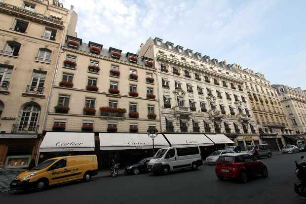 Hotel Westminster, rue de la Paix, Paris