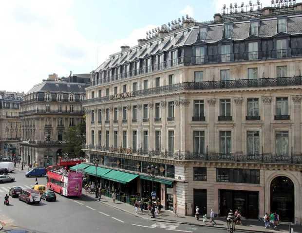 Cafe de la Paix, Le Grand Hotel, Paris