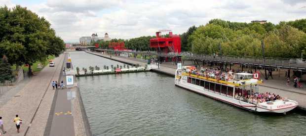 Canauxrama Cruise, Parc de la Villette, Paris
