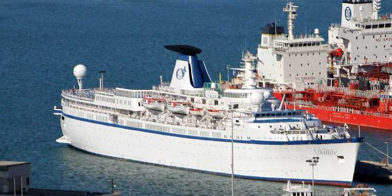Cruise Ship Princess Danae Arrives to Haifa