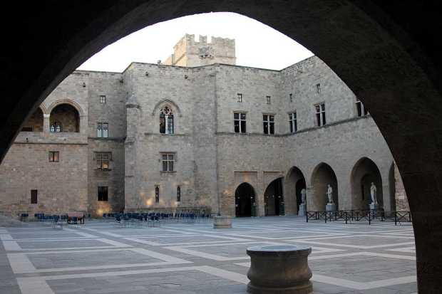Palace of the Grand Master of the Knights of Rhodes, Rhodes, Greece