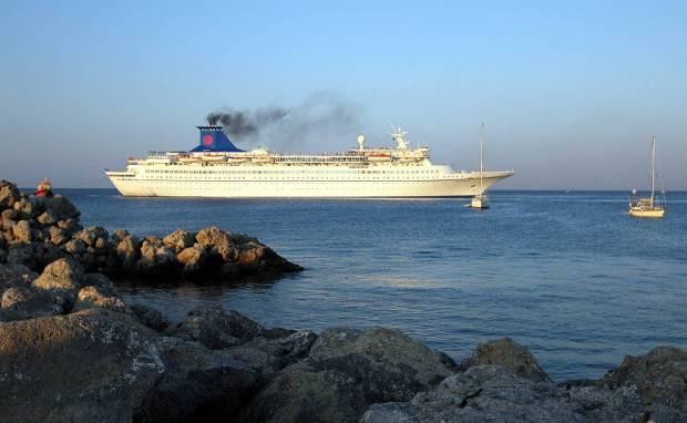 Cruise Ship Aquamarine