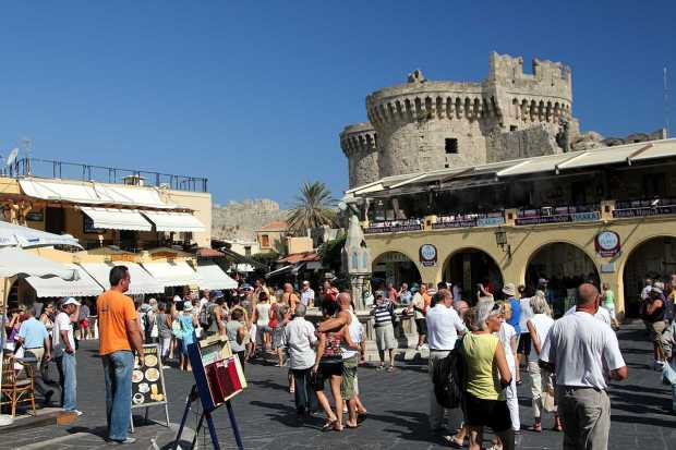 Old City of Rhodes, Greece