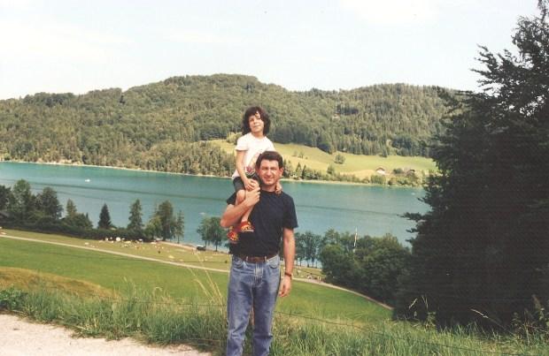 Lake Waller (Wallersee) in Salzburg, Austria