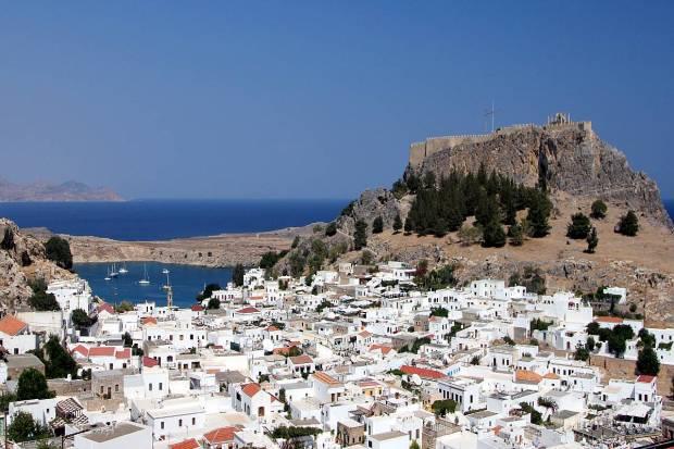 Lindos, Rhodes, Dodecanese, Greece