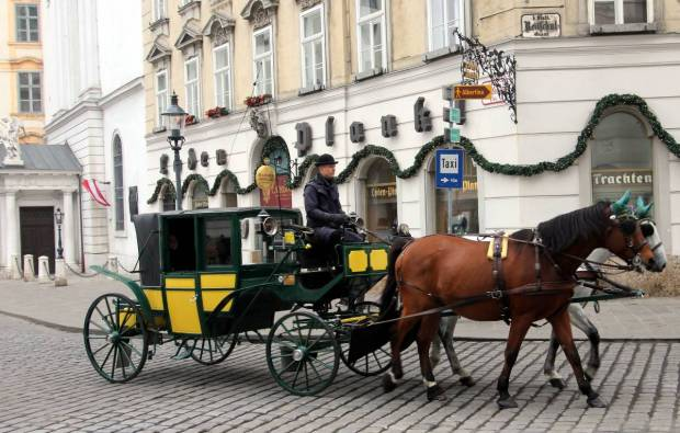Vienna by Horse-Drawn Carriage