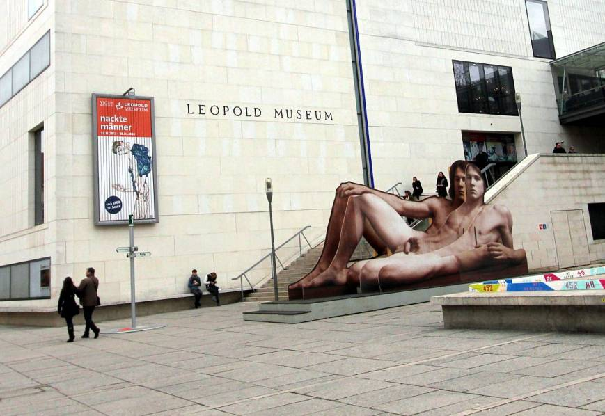 Exhibition: Nude Men from 1800 to the Present Day,  19 October 2012 – 28 January 2013, Leopold Museum, Vienna