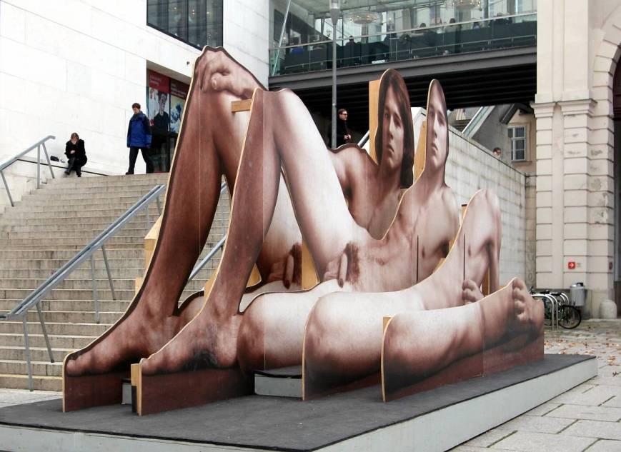 Nude Men, Leopold Museum